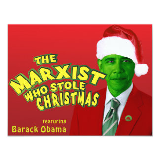 The Marxist Who Stole Christmas Personalized Invitation