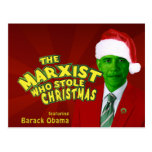 The Marxist Who Stole Christmas Postcard