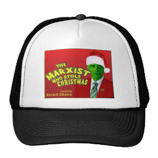 The Marxist Who Stole Christmas Trucker Hat