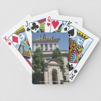 The Mary Baker Eddy Library Boston Playing Cards
