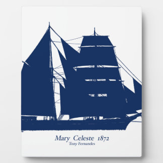 The Mary Celeste 1872 by tony fernandes Plaque