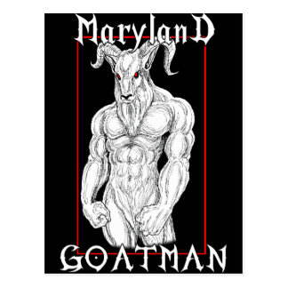 The Maryland Goatman Postcard