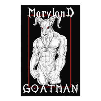 The Maryland Goatman Stationery