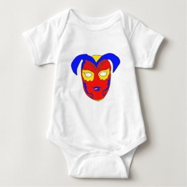 USA Themed The MASK 1.png Baby Bodysuit