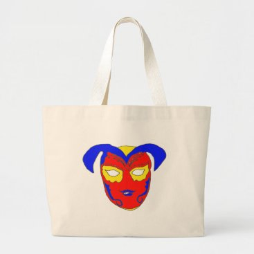 USA Themed The MASK 1.png Large Tote Bag