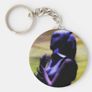 The Mask Basic Round Button Keychain