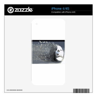 The Mask Decals For The iPhone 4S