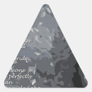The Mask Triangle Sticker