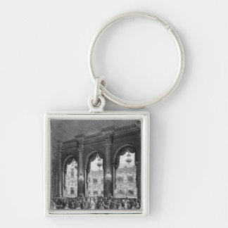 The masked ball, 23rd January 1782 Keychain