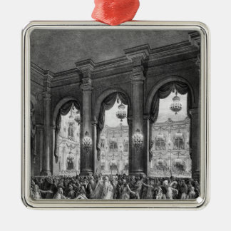 The masked ball, 23rd January 1782 Christmas Ornaments
