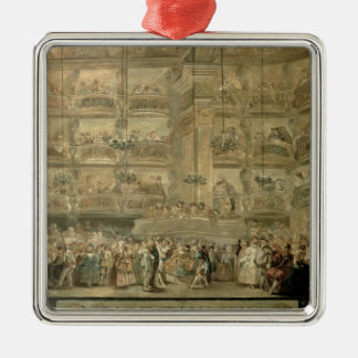 The Masked Ball, c.1767 Christmas Ornament