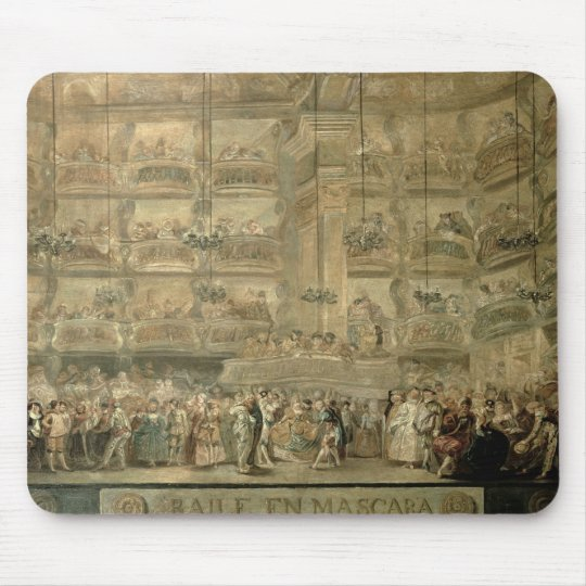 The Masked Ball, c.1767 Mouse Pad
