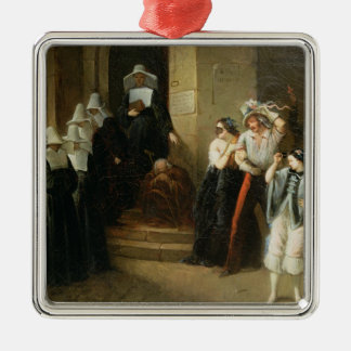 The Masked Ball, c.1870 Christmas Tree Ornaments