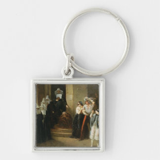 The Masked Ball, c.1870 Keychain