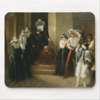 The Masked Ball, c.1870 Mouse Pad