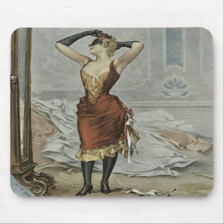 The masked ball - lady of leisure and pleasure mousepads