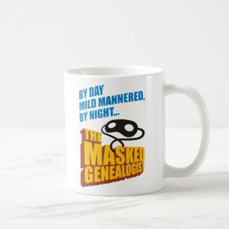 The Masked Genealogist Coffee Mug