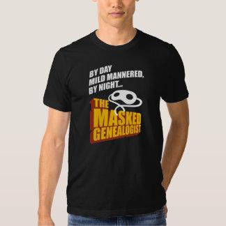 The Masked Genealogist Shirt