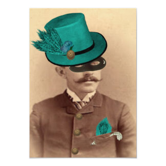 The Masked Hatter Card