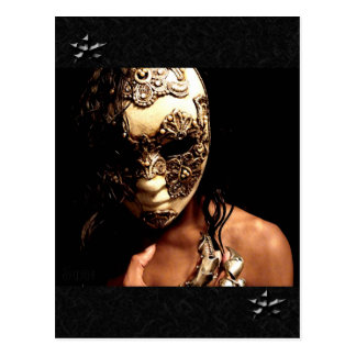 The Masked Postcard