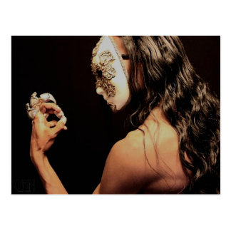 The Masked: Profile Postcard