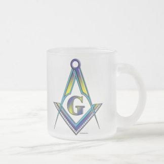 The Mason Frosted Glass Coffee Mug