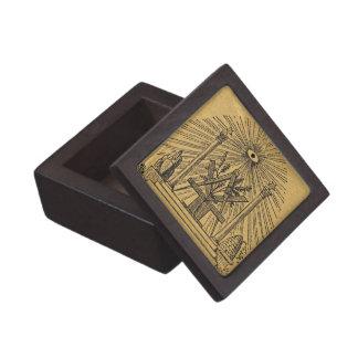 The Masonic Altar Keepsake Box