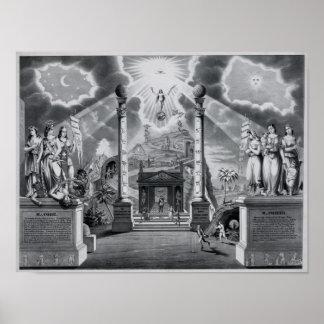 The Masonic Chart (B&W)