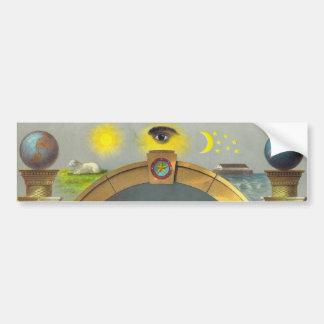 The Masonic Chart Bumper Sticker