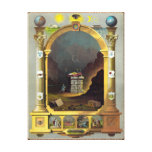 The Masonic Chart Canvas Print