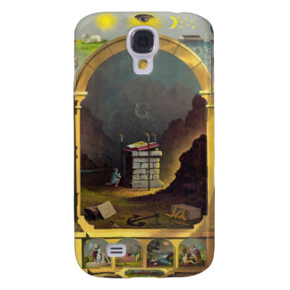 The Masonic Chart Samsung Galaxy S4 Cases