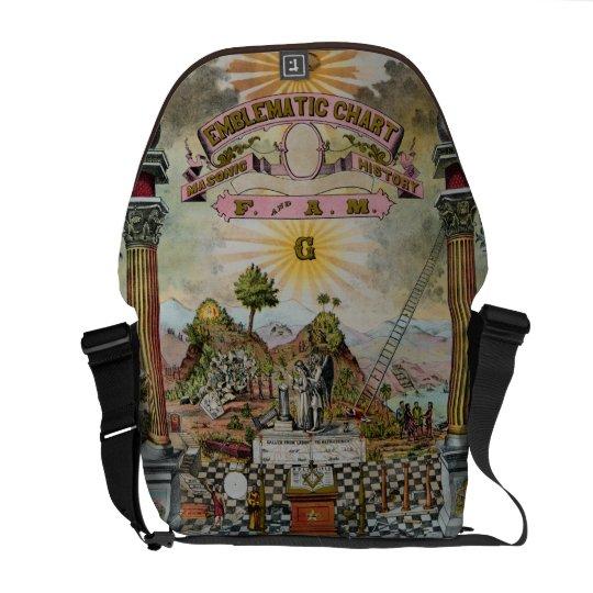 The Masonic Chart Messenger Bag