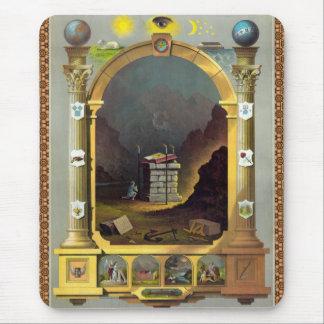 The Masonic Chart Mouse Pad