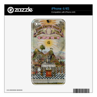 The Masonic Chart Skins For iPhone 4