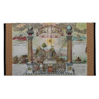 The Masonic Record iPad Folio Cover