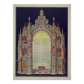 The Masons' Lord's prayer [1892] Poster
