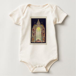 The Masons' Lord's Prayer by Huncke 1892 Baby Bodysuit