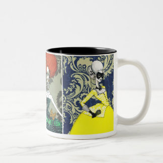 The Masquerade Two-Tone Coffee Mug