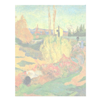 The Mass Of Arles By Gauguin Paul (Best Quality) Letterhead Design