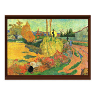 The Mass Of Arles By Gauguin Paul (Best Quality) Postcard