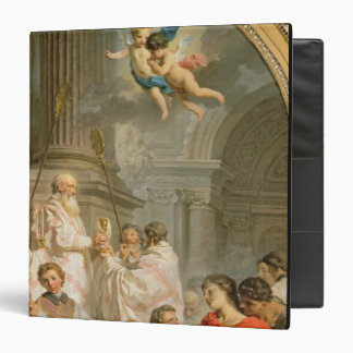 The Mass of St. Basil (oil on canvas) 3 Ring Binder