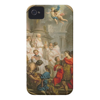 The Mass of St. Basil (oil on canvas) Case-Mate iPhone 4 Case