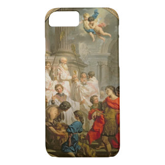 The Mass of St. Basil (oil on canvas) iPhone 8/7 Case