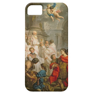 The Mass of St. Basil (oil on canvas) iPhone SE/5/5s Case