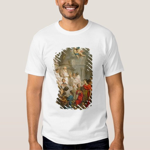 The Mass of St. Basil (oil on canvas) Tee Shirt