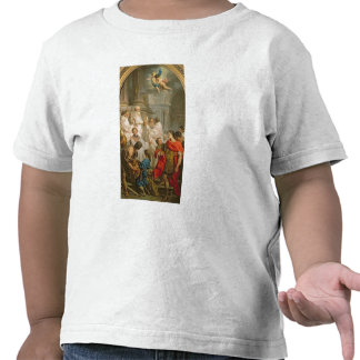 The Mass of St. Basil (oil on canvas) T-shirts