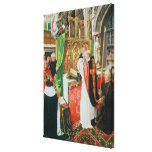 The Mass of St. Giles, c.1500 Stretched Canvas Prints