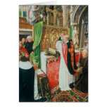 The Mass of St. Giles, c.1500 Cards