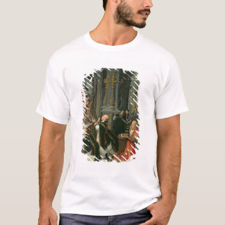 The Mass of St. Gregory (oil on canvas) T-Shirt