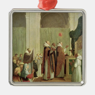 The Mass of St. Martin of Tours, 1654 Metal Ornament